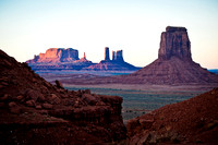 Sonnenuntergang - Monument Valley